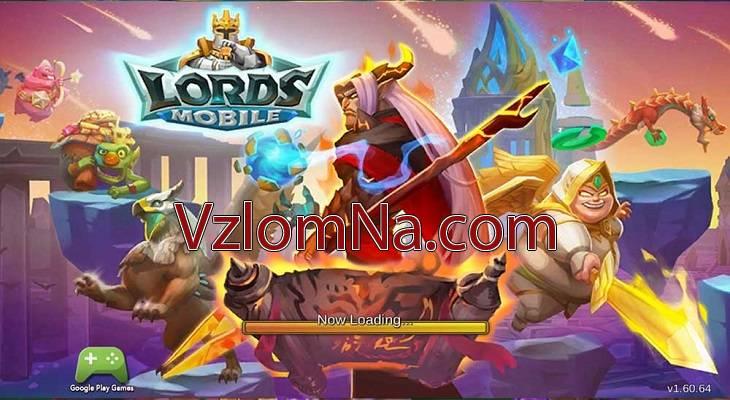 Lords Mobile Коды и Читы Деревья, Драгоценные камни и Монеты