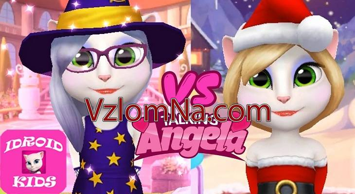 My Talking Angela Коды и Читы Монеты и Бриллианты