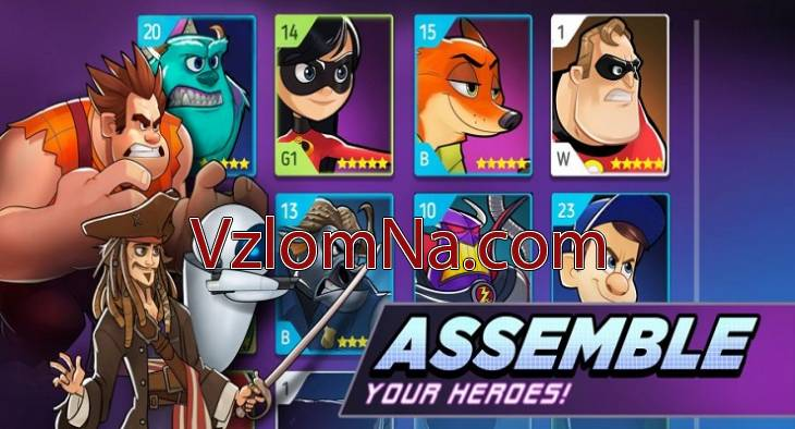 Disney Heroes Battle Mode Коды и Читы Бриллианты
