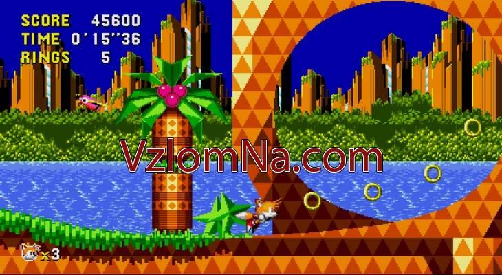 Sonic CD Коды и Читы Кольца