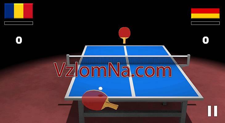 Virtual Table Tennis Коды и Читы Очки