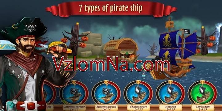 Pirate Battles: Corsairs Bay Коды и Читы Деньги