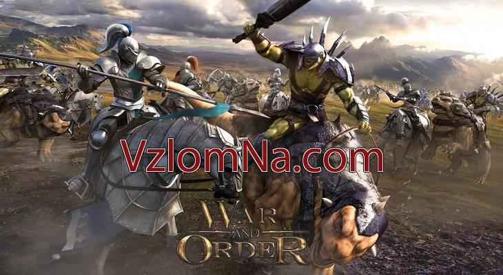 War and Order Коды и Читы Энергия