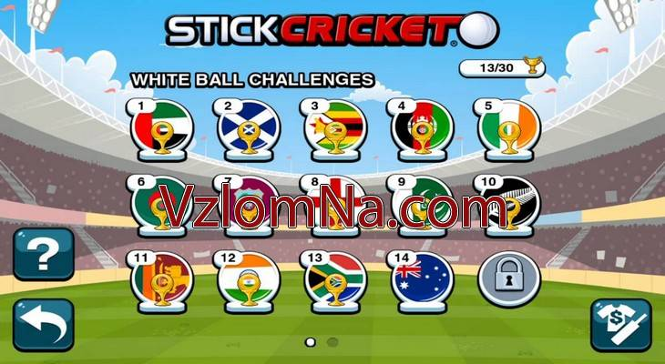 Stick Cricket 2 Коды и Читы Очки