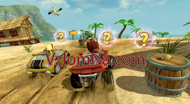 Beach Buggy Racing Коды и Читы Деньги и Кристаллы