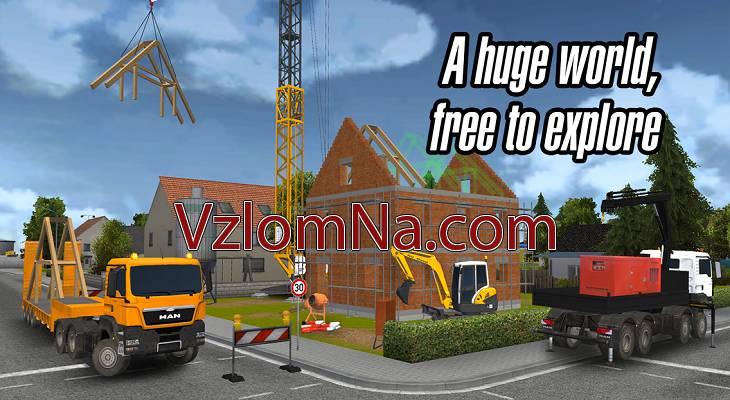 Construction Simulator 2014 Коды и Читы Деньги