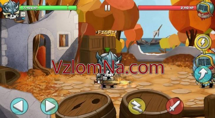 Tiny Gladiators 2 Коды и Читы Здоровье