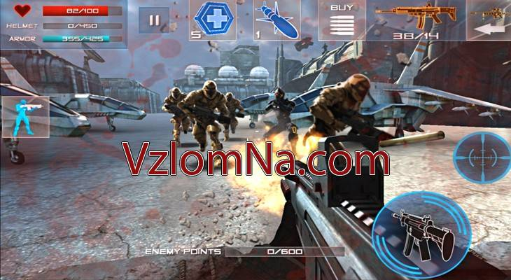Enemy Strike 2 Коды и Читы Жизни и Броня