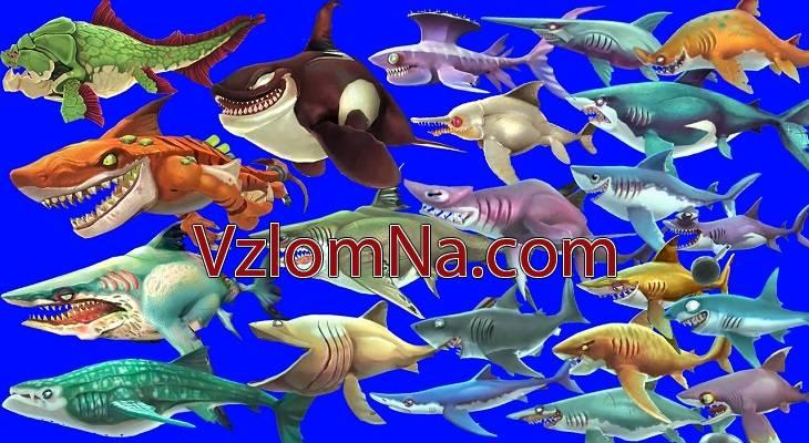 Shark Evolution Коды и Читы Монеты, Жизни и Кристаллы